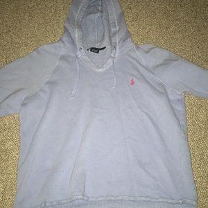 Vintage RL Sport Hooded Sweater